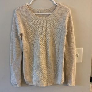 Hinge chunky knit oatmeal cozy sweater Nordstrom
